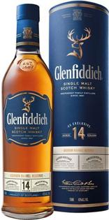 Glenfiddich Scotch Single Malt 14 Year Bourbon Barrel...